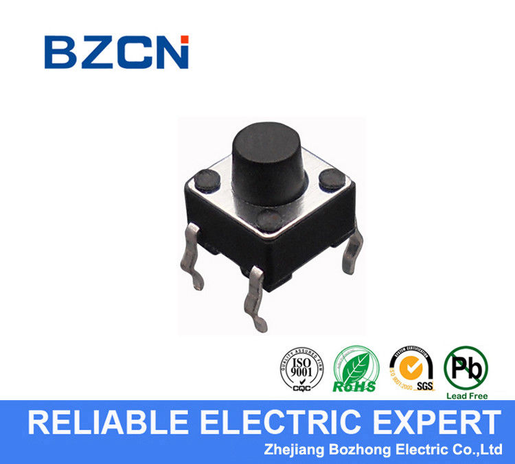 NC Normally Closed Momentary Tactile Push Switch Through Hole Terminal DIP Type